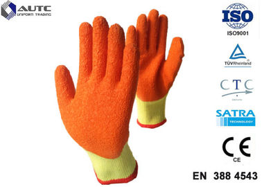 Mechanical Personal Protective Equipment Gloves Elasticated Cuff For Glass Handing