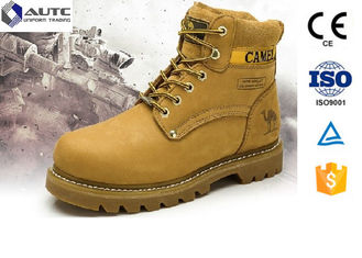 Non Conductive PPE Safety Shoes , Lightweight Steel Toe Shoes Military Anti Static