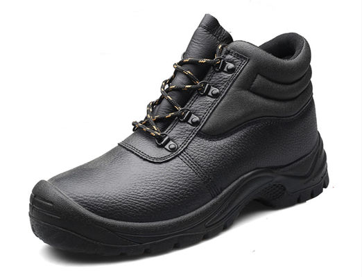 European Standard Genuine Leather Waterproof Heat Resistant Safety Work Shoes Safety Shoes